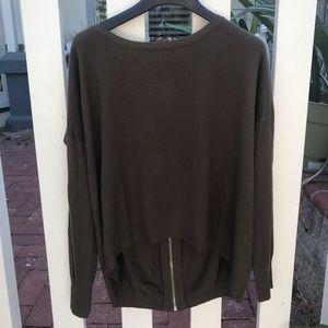 🆕Zipper sweater, NWOT.